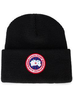 шапка с отворотом Canada Goose