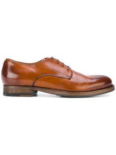 туфли на шнуровке Pantanetti