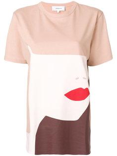футболка Visage с принтом  Carven