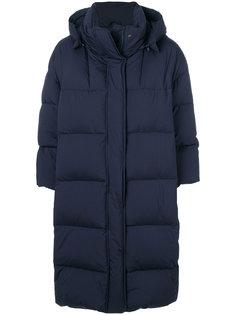 длинное дутое пальто  Aspesi