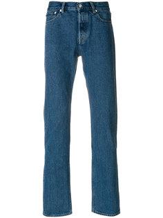 джинсы с потертой отделкой First Cut Our Legacy