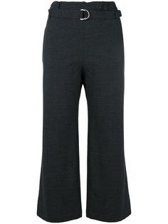 укороченные строгие брюки  Cruciani