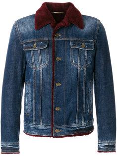 джинсовая куртка на овчине Dolce & Gabbana