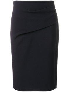 юбка-карандаш со сборками Armani Collezioni