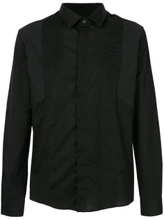 рубашка с плиссировкой  Les Hommes
