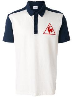 футболка-поло с контрастным принтом Le Coq Sportif