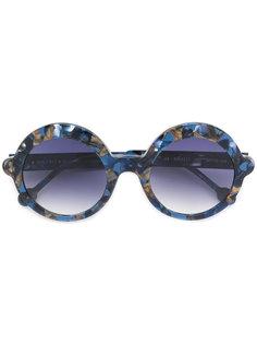 солнцезащитные очки в круглой оправе Res Rei