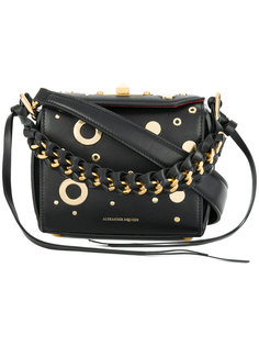 декорированная сумка Box Alexander McQueen