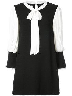 платье дизайна колор-блок Edward Achour Paris