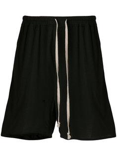 свободные шорты со шнурком  Rick Owens Lilies