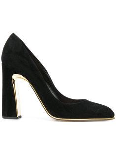 туфли с золотистой отделкой Sebastian