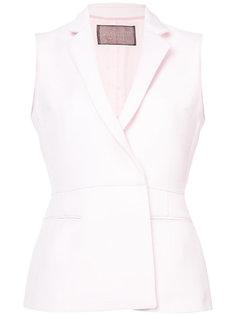 блузка без рукавов с запахом Giambattista Valli
