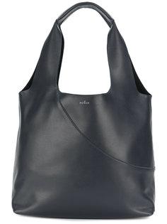 сумка-тоут с принтом логотипа Hogan