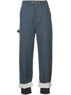 брюки с двойными манжетами Rosie Assoulin