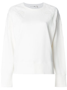 свитер с английской вышивкой Rag & Bone