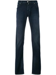 брюки с потертой отделкой Jacob Cohen