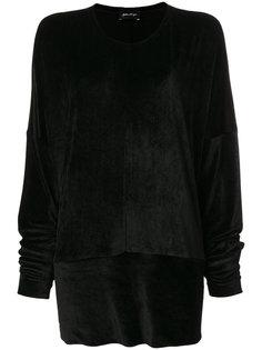 свитер с бархатным эффектом Andrea Yaaqov