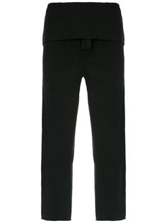 layered trousers Osklen