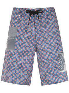printed swim shorts Osklen