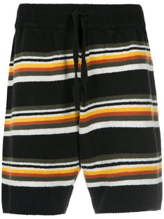 striped knit shorts Osklen