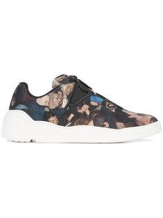 кроссовки с рисунком Dior Homme