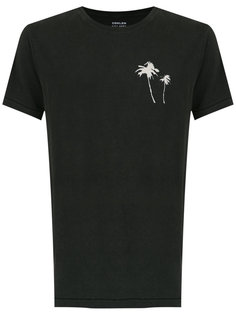 palm tree print T-shirt Osklen