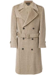 двубортное пальто с поясом Marc Jacobs