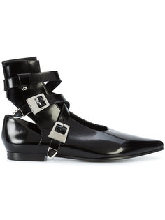 ботинки с пряжками Robert Clergerie