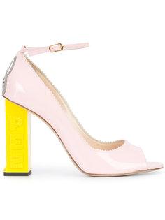 contrast heel pumps  Camilla Elphick