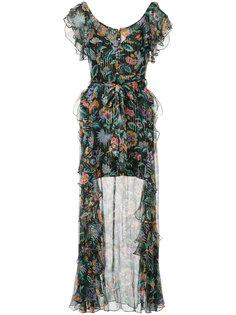 длинное платье Oh Oh Oh с цветочным принтом Alice Mccall