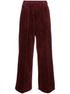 укороченные брюки с ребристой фактурой Astraet