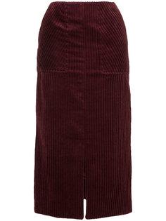 ребристая юбка-карандаш Astraet