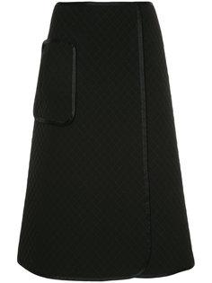 стеганая юбка А-образного силуэта Astraet
