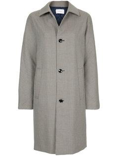 пальто с узором в ломаную клетку Astraet