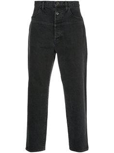 укороченные джинсы с завышенной талией En Route