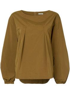 блузка с плиссированными деталями En Route