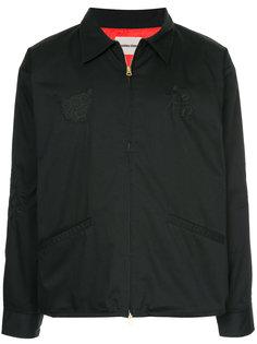 куртка с вышивкой monkey time