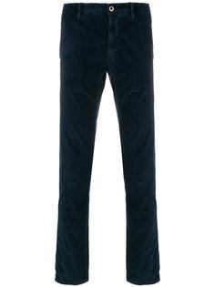 классические брюки стандартного кроя Incotex
