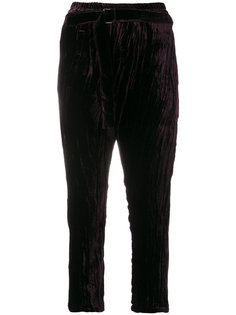 укороченные брюки Blixa Ann Demeulemeester