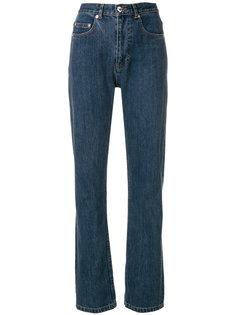 джинсы клеш  A.P.C.