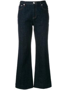 укороченные джинсы  A.P.C.