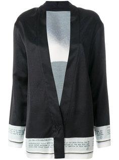 пиджак с принтом  Maison Margiela