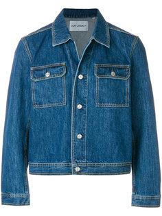 укороченная джинсовая куртка  Our Legacy