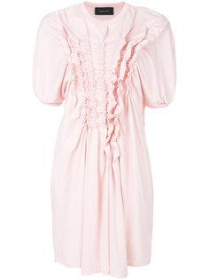 платье с оборкой  Simone Rocha