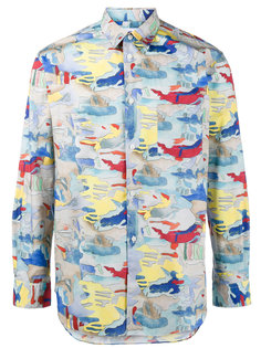 рубашка с абстрактным принтом Comme Des Garçons Shirt