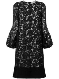 платье с цветочным кружевом Les Copains