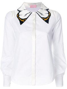 рубашка с бабочкой на воротнике  Giamba