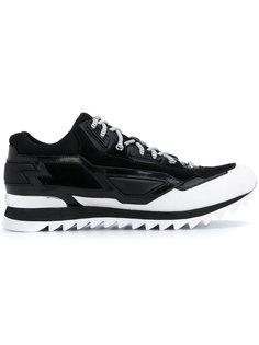 кроссовки с простроченными панелями Les Hommes