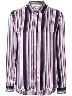 рубашка в полоску с длинными рукавами  Massimo Alba
