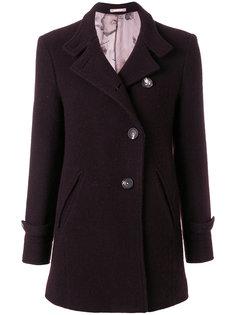 приталенное пальто на пуговицах  Massimo Alba